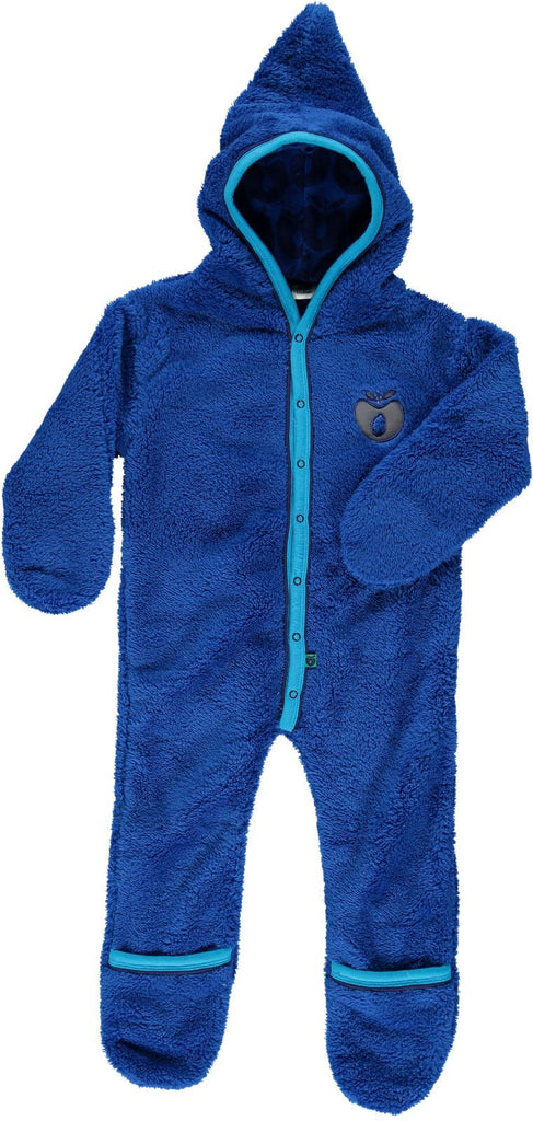 Smafolk - Baby Fleece Suit Blue