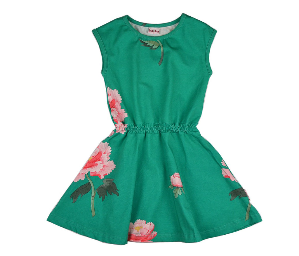 Baba Babywear - Smock Dress Peonies