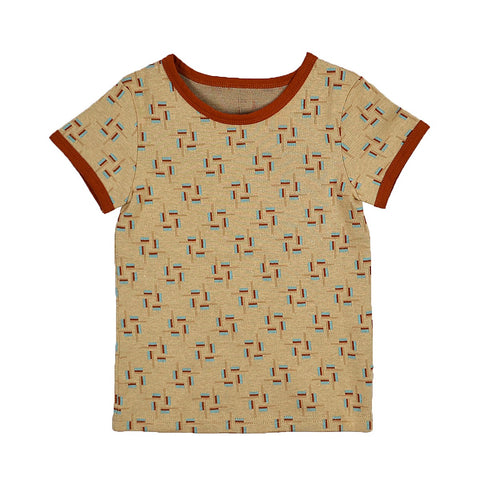 Baba Babywear - T-shirt Boys Jacquard Blocks