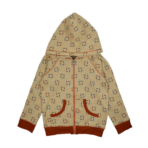 Baba Babywear - Hoody jacket Blocks