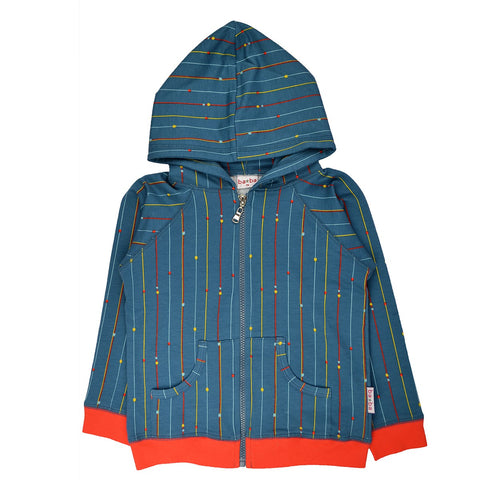 Baba Babywear - Hoody jacket Stripes & Dots