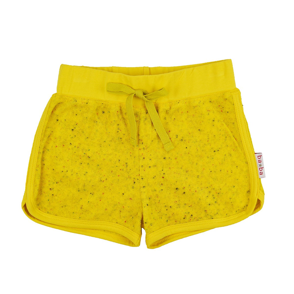 Baba Babywear - Shorts Speckled Terry Lemon