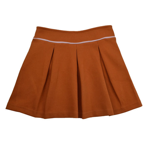 Baba Babywear - Pleat Skirt Diagonal Rib Autumnal