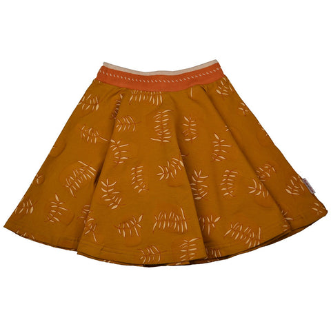 Baba Babywear - Full Circle Skirt Leaves