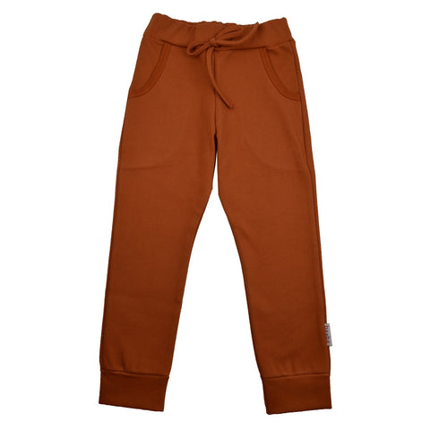 Baba Babywear - Girls Pants Autumnal Diagonal Rib