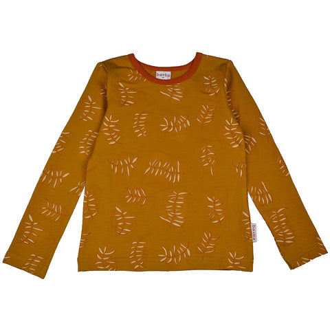 Baba Babywear - Longsleeve Sweat Girls Leaves