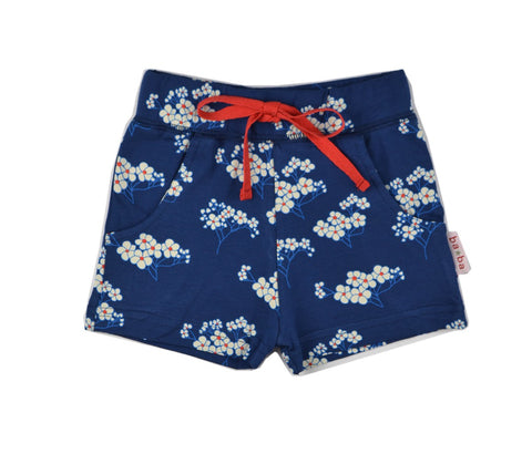 Baba Babywear - Shorts Blue Flowers