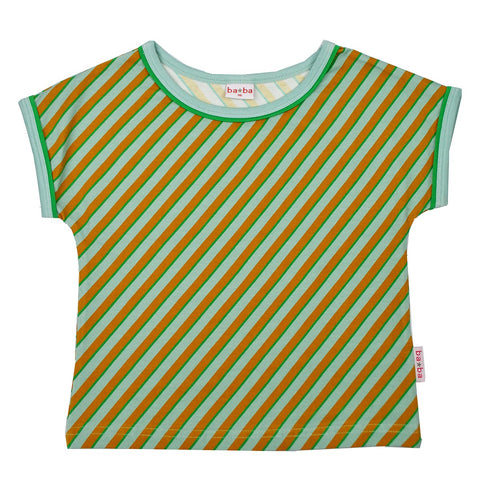 Baba Babywear - T-shirt Multicolor Diagonal Blue