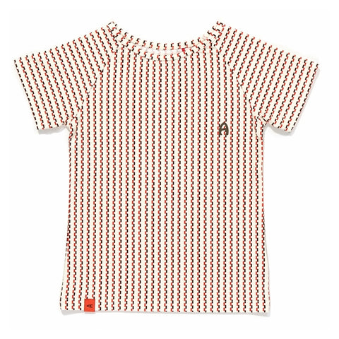 Albababy - Eddy T - Brown/Orange Striped