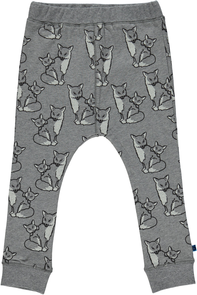 Smafolk - Baggy Leggings Grey Fox - Grijze Vos