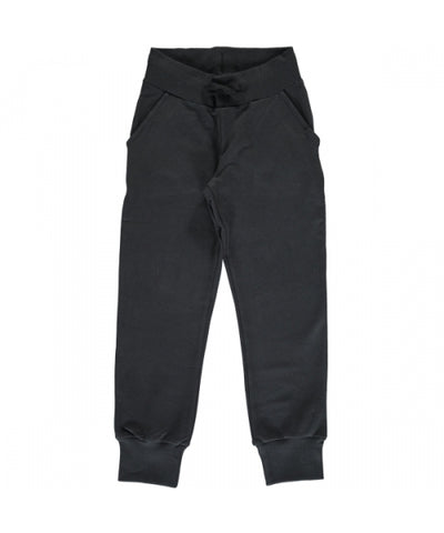 Maxomorra Sweatpants Black - Sweat broek Zwart