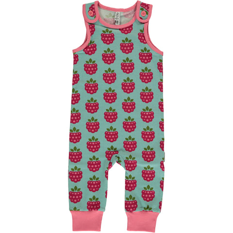 Maxomorra Playsuit Raspberry - Playsuit Frambozen