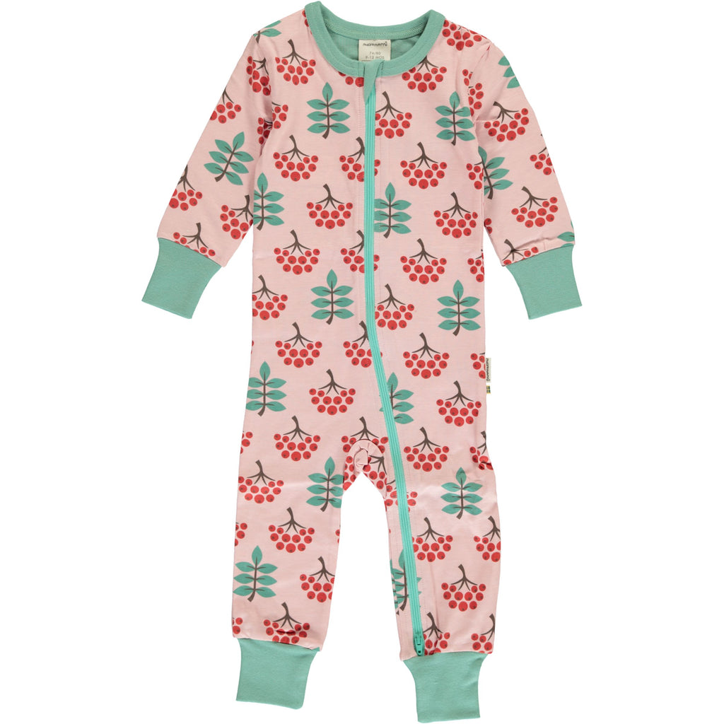 Maxomorra - Rompersuit SLIM Ruby Rowanberry - Jumpsuit Lijsterbes SMAL