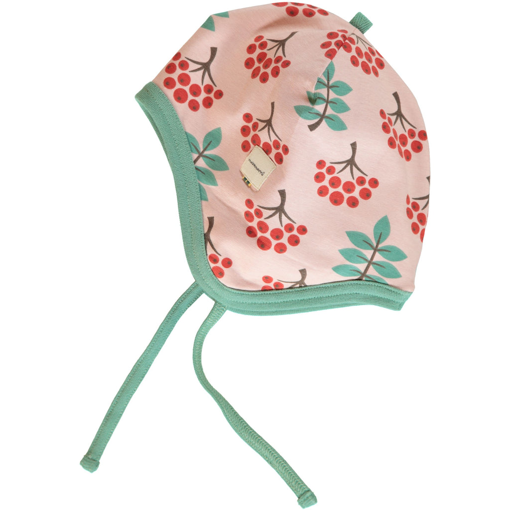 Maxomorra - Hat Helmet Velours Ruby Rowanberry