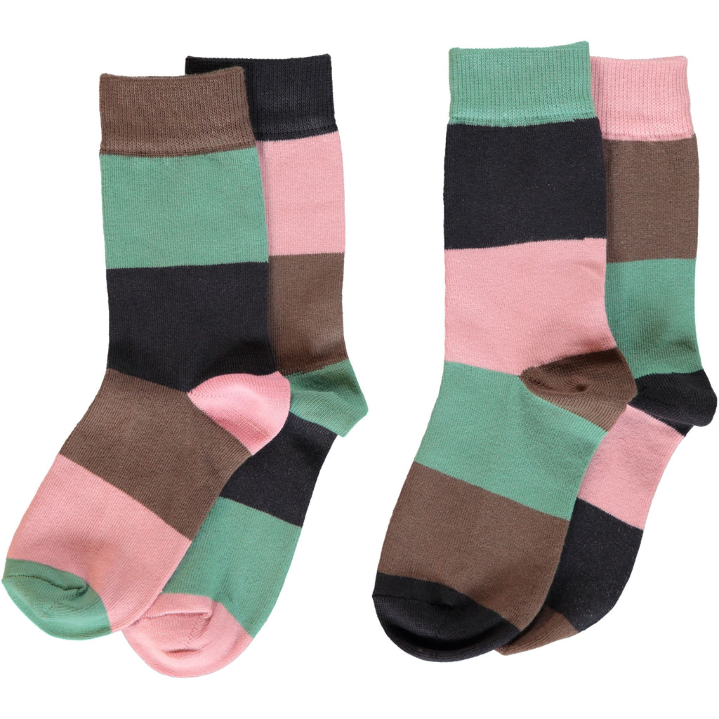 Maxomorra - Socks 2-pack Multi Forest