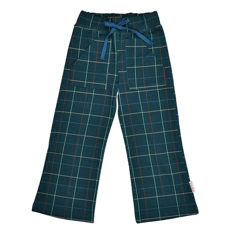 Baba Babywear - Pocket Pants Checked Blue