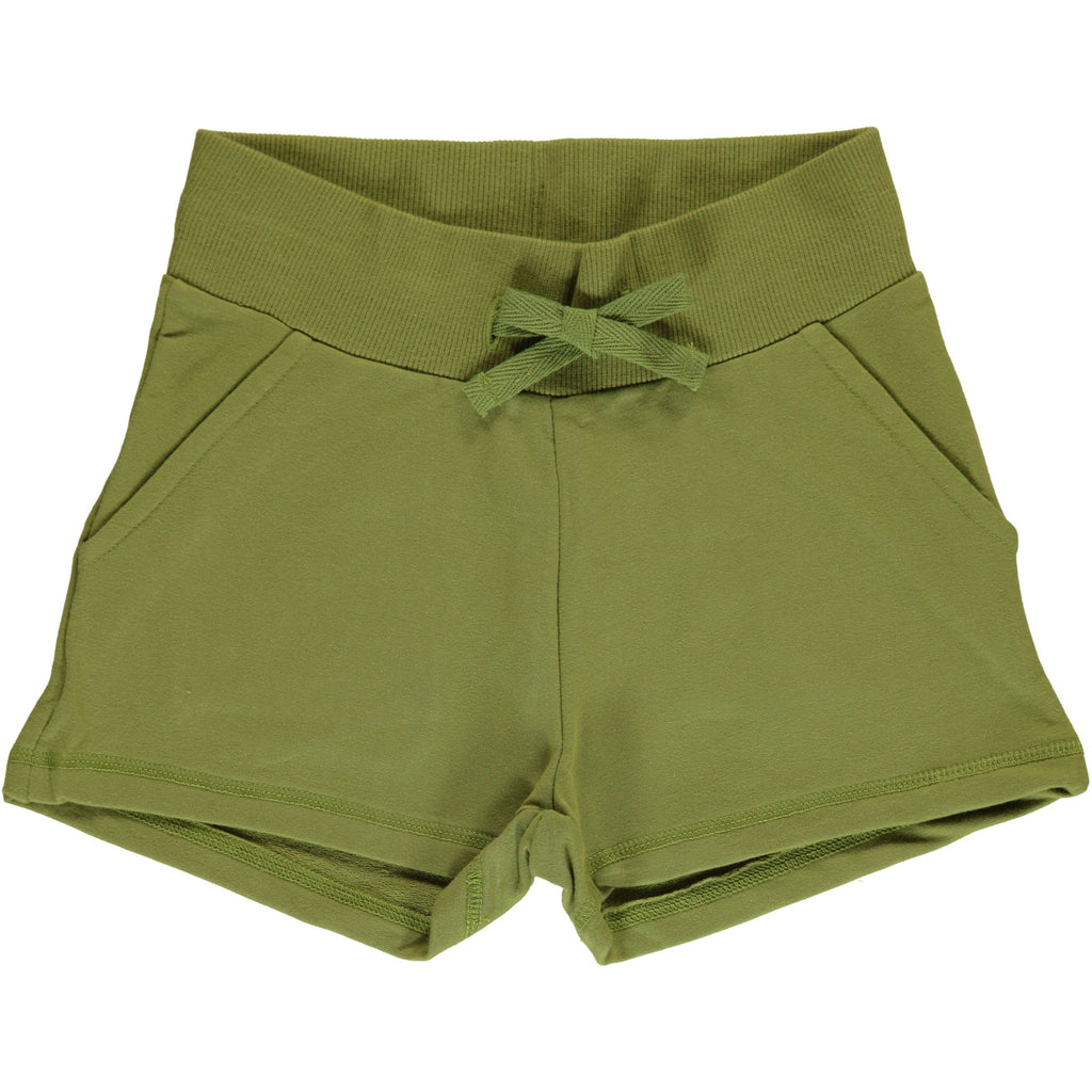 Maxomorra Sweat Shorts Apple Green - Korte Broekje Groen