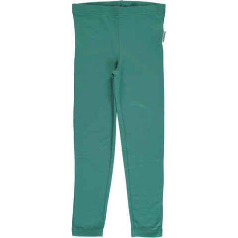 Maxomorra Leggings Green Petrol - Petrol Groene legging