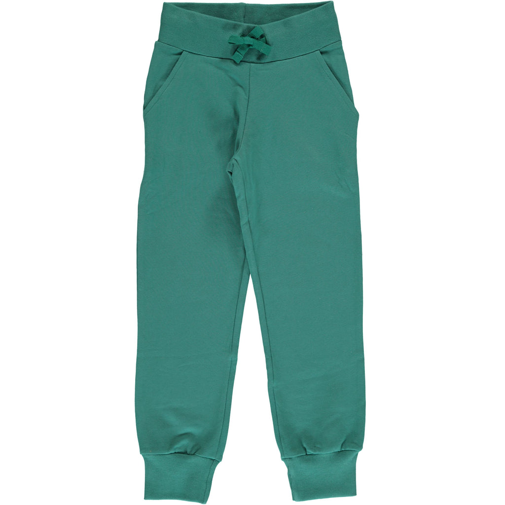 Maxomorra Sweatpants Green Petrol - Sweat broek Petrol Groen
