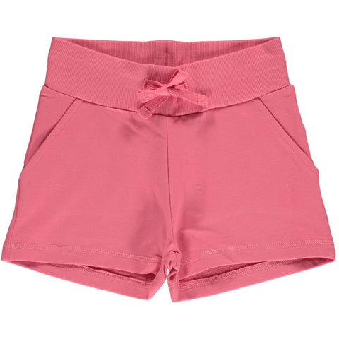 Maxomorra Sweat Shorts Rose Pink - Korte Broekje Rozen Roze