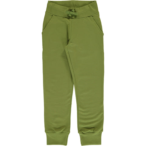 Maxomorra Sweat Pants Apple Green - Appel Groen Joggingbroekje