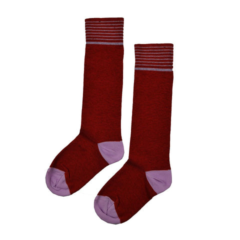 Baba Babywear - Kneesocks Red