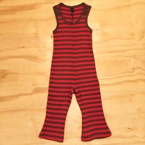 Moonkids Playsuit Red/Brown