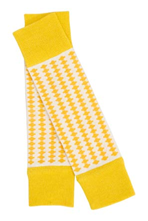 AlbaBaby - Leah Legwarmers Nugget Gold Tiles