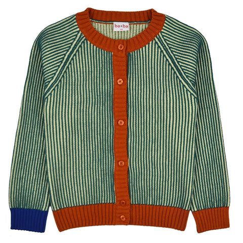 Baba Babywear - Alice Cardigan Pacific Stripes