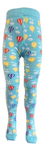 Slugs and Snails - Tights Air Balloons - Maillot Turquoise Blauw met Luchtbalonnen