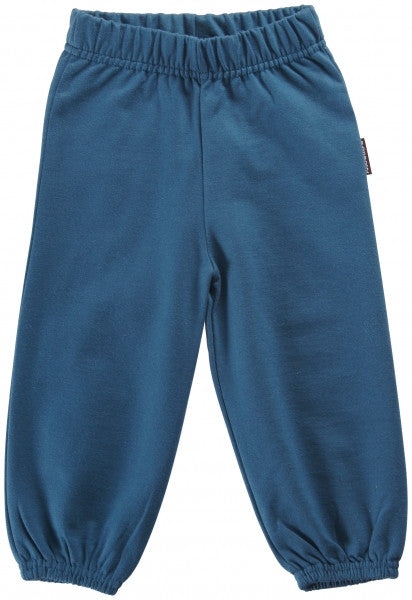 Maxomorra Pants Baby Sweat Petrol