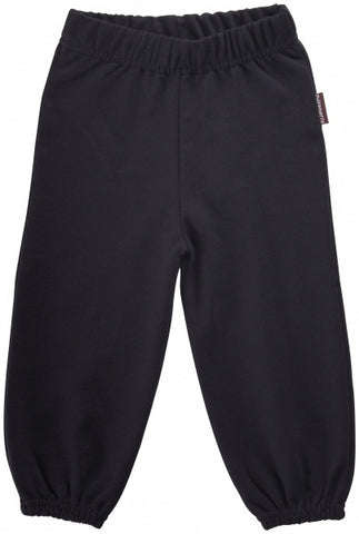 Maxomorra Pants Baby Sweat Black Zwart