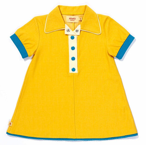 Albababy - Dress Cajsa Yellow