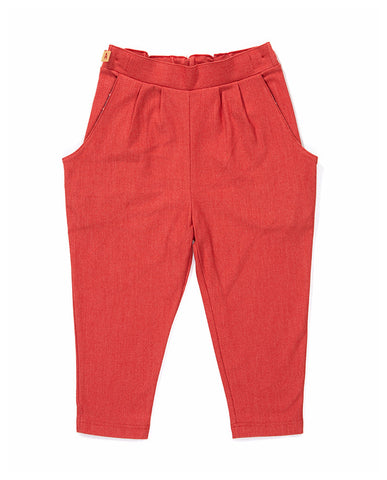 AlbaBaby Pants Dara Red - Rode Broek