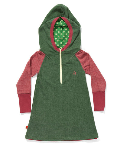 AlbaBaby - Dress Fami Green/Rose
