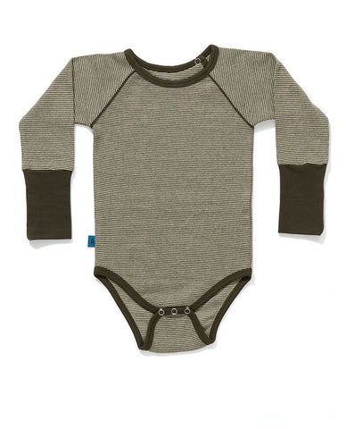 AlbaBaby - Body/Romper Fammie Creme/Brown