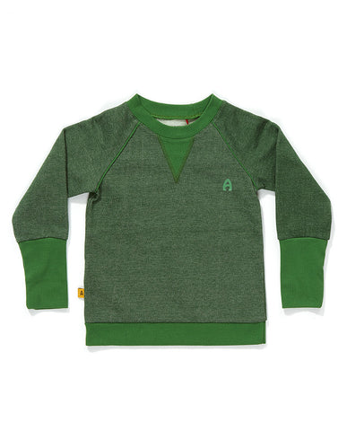 AlbaBaby - Blouse Fante Pullover Green