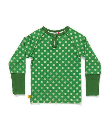 AlbaBaby - Blouse Feane Green Flower