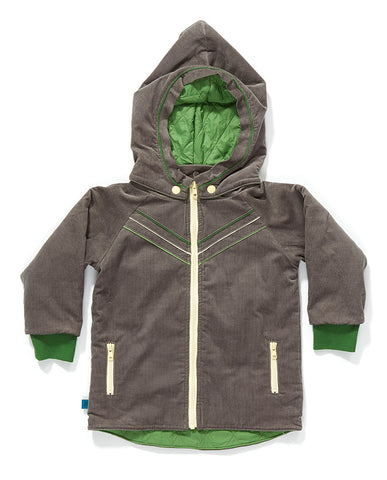AlbaBaby Jacket Felias Grey Green - Winterjas