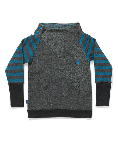 AlbaBaby - Sweat Fennis Grey/Blue Stripe