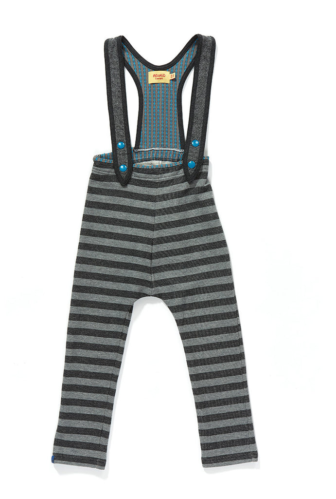 AlbaBaby - Crawlers Filur Grey Striped