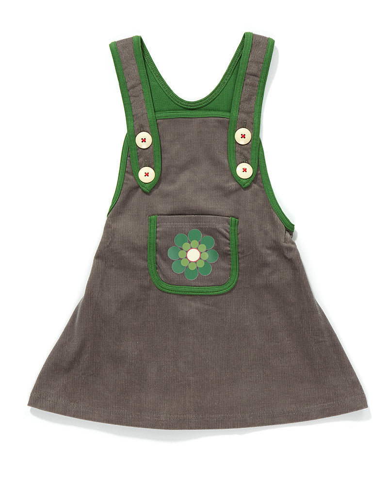 AlbaBaby - Dress Fiona Spencer Dress Grey/Green