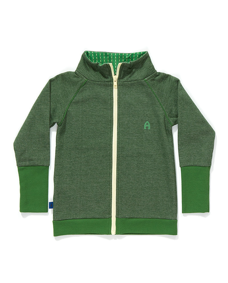 AlbaBaby - Zipper Cardigan Frank Green