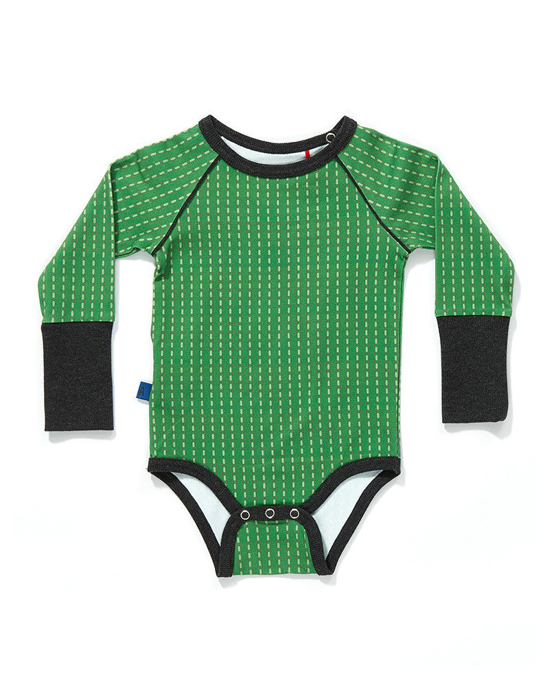 AlbaBaby - Body/Romper Freddy Green/Grey