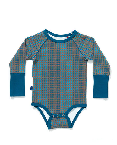 AlbaBaby - Body/Romper Grey/Blue