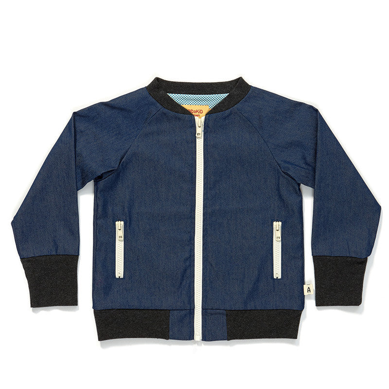 AlbaBaby Jacket Gape Denim