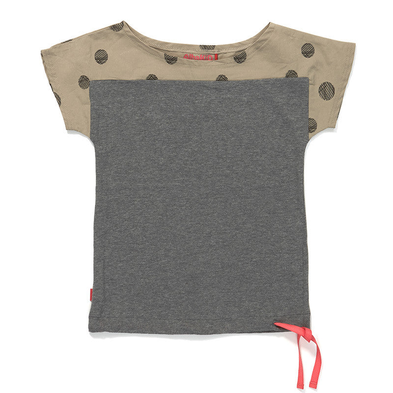 AlbaBaby - Gasia T-Shirt Grey Dot