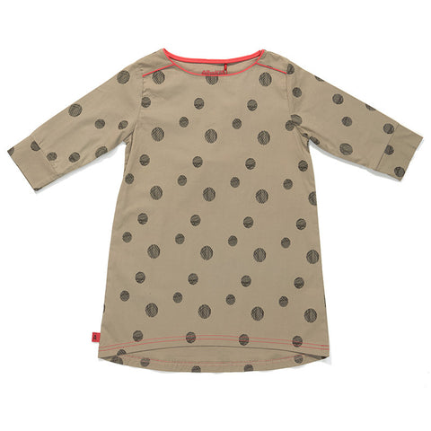 AlbaBaby Gaya Dress Grey Dot