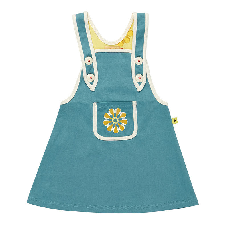 AlbaBaby Gaya Spencer Dress Blue