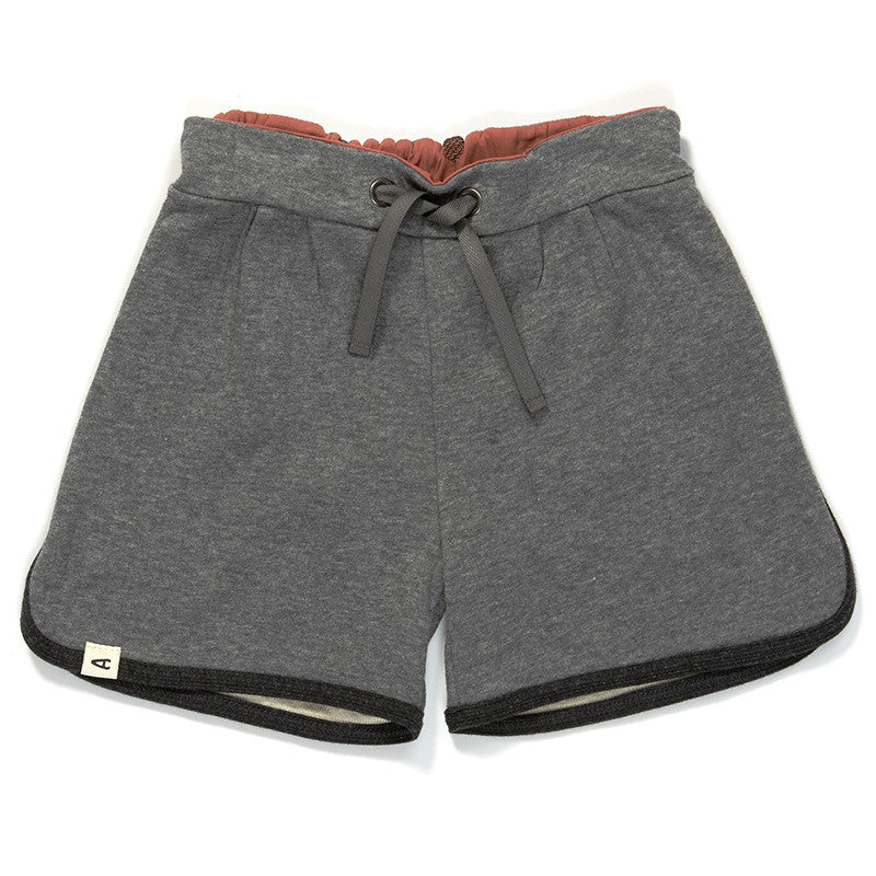 AlbaBaby Grape Shorts Grey